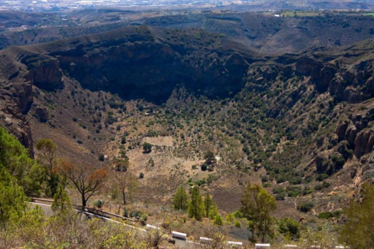 Las Plamas, botanical garden and volcano