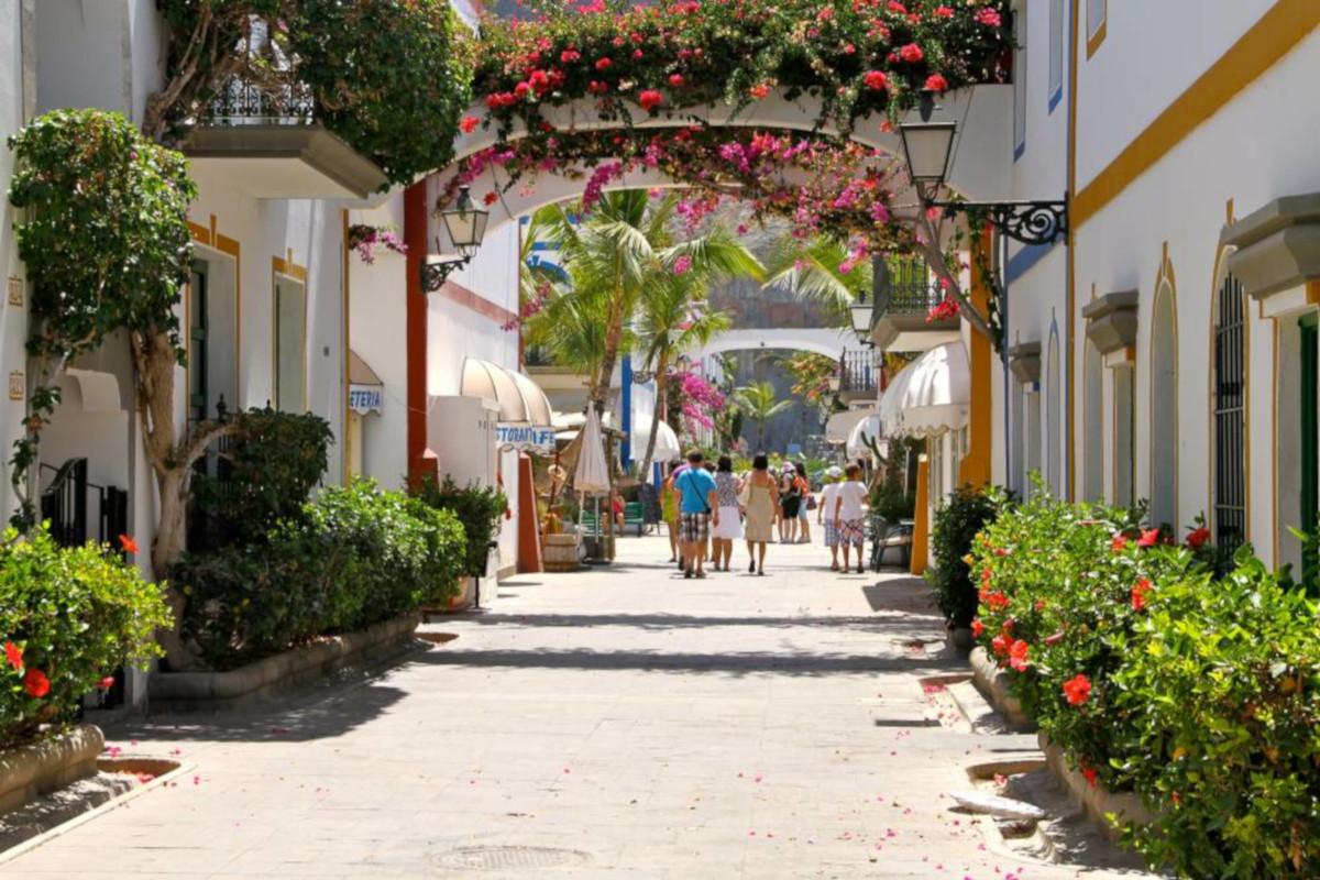 Puerto Mogán market